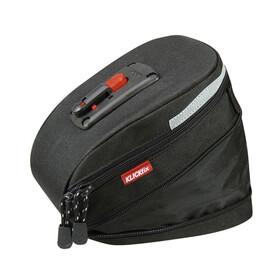 KlickFix Micro 200 Satteltasche Expandable schwarz